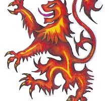 Lion Rampant by bikeymikey