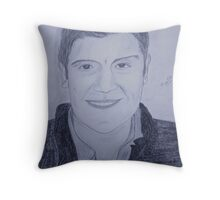 Portrait of Martin Throw Pillow