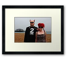 Two tone two Framed Print