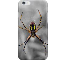 Yellow Equals Caution iPhone Case/Skin