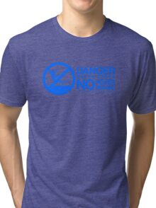 Danger! No Hover Boarding! Tri-blend T-Shirt