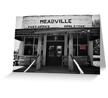 Meadville Greeting Card