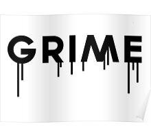 Grime Logo Poster