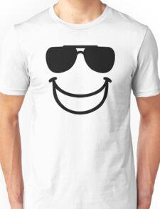 Funny smiley sunglasses Unisex T-Shirt