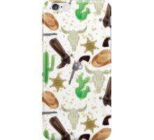 Western pattern iPhone Case/Skin
