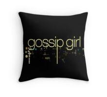Gossip Girl Throw Pillow