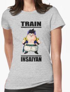 Gotenks Train Insaiyan Womens Fitted T-Shirt