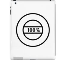 100% stamp iPad Case/Skin
