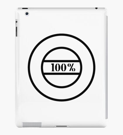 100% stamp iPad Case/Skin