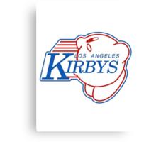Los Angeles Kirby's  Canvas Print