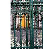 gate at St Andrew's Kirk, Ballarat Photographic Print