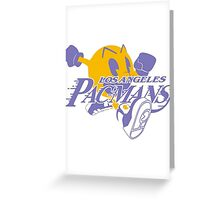Los Angeles Pacmans  Greeting Card