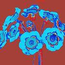 Auricula Blue by Fara
