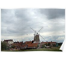 Cley, North Norfolk Coast. UK Poster