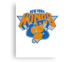 New York Donkey Kongs Canvas Print