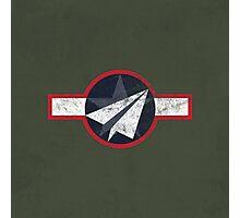 Paper Airplane 125 Photographic Print