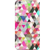Mixed colors triangles iPhone Case/Skin