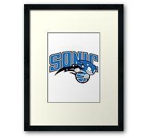 Orlando Sonic Framed Print