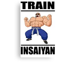 Master Roshi Train Insaiyan Canvas Print