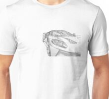 2017 Ford GT Outline Designs Unisex T-Shirt