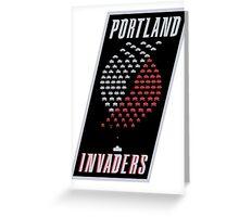 Portland Invaders Greeting Card