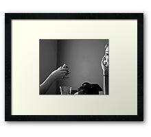 Elven Sister Framed Print