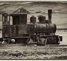 Old Coal Engine by Marylou Badeaux