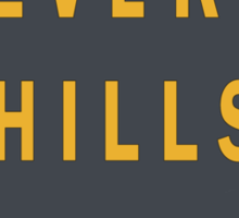 Beverly Hills Street Sign Print  Sticker