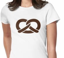 Pretzel Womens Fitted T-Shirt