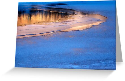 Icy Reflections by Brian Hendricks