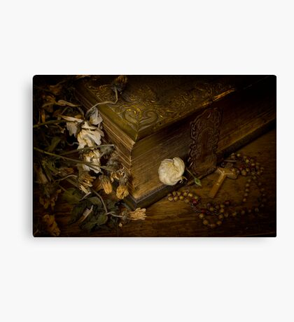 The Fate of Flowers Canvas Print