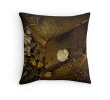 The Fate of Flowers Throw Pillow