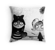 Funny Rivalry Throw Pillow
