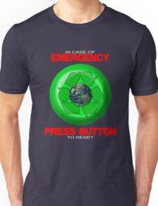 Where's The Reset Button (dark shirts) Unisex T-Shirt