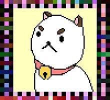 Pixelated Puppycat- Bee and Puppycat Shirt by murdergod