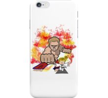 Martial Arts On Fire iPhone Case/Skin
