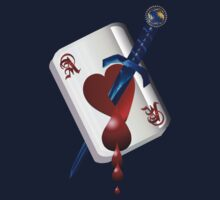 Ace Of Hearts and Dagger  T-Shirt