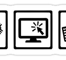 Programmer equipment Sticker