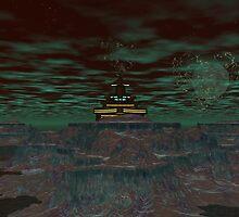 Alien  Tourist Trap by Sazzart