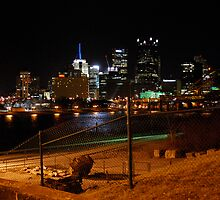 Downtown Pittsburgh, PA by polylongboarder