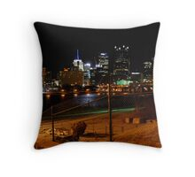 Downtown Pittsburgh, PA Throw Pillow