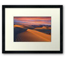 Dune Wonderland Framed Print
