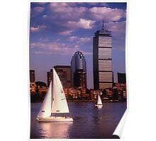 Boston, MA 3 Poster
