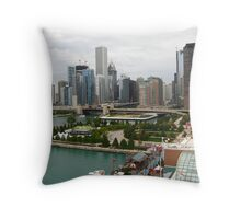 Downtown Chicago, IL Throw Pillow