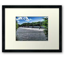 Water Rush IV Framed Print