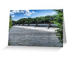 Water Rush IV Greeting Card