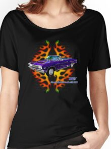 '67 Chevy Chevelle by ©Fractal Tees Women's Relaxed Fit T-Shirt