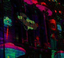 White Night Melbourne 2015 by Aaron  Kinzer