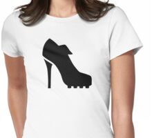 Soccer pumps Womens Fitted T-Shirt