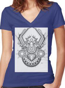 Riot Seeker Women's Fitted V-Neck T-Shirt